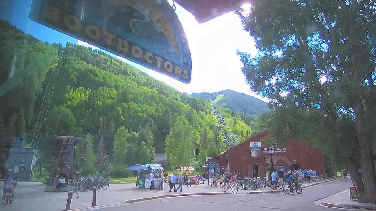 Telluride Mountain Live Webcam